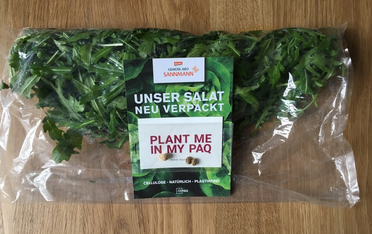 Sannmann Demeter Organic Vegetables In Organic Packaging Verycompostable