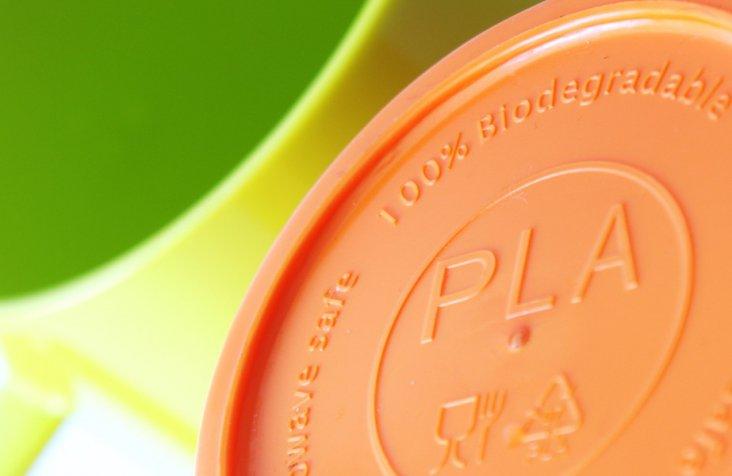 Biodegradeable-PLA-plastic